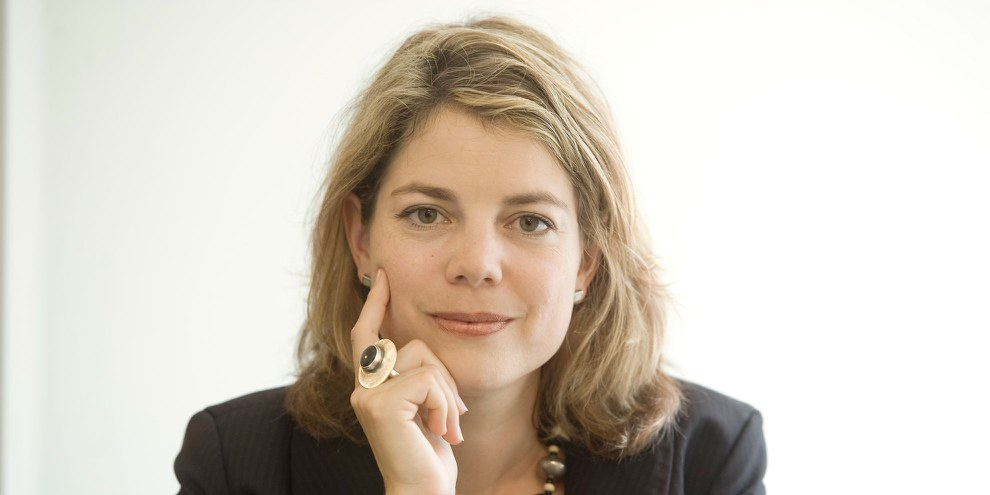 Manon Schick, Geschäftsleiterin Amnesty International Schweiz. © Valérie Chételat