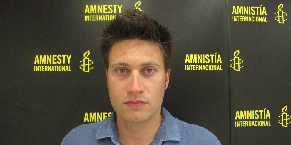 Andrew Gardner, Türkei-Researcher und Freund von Taner Kılıç. © AI