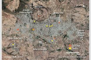 Massaker durch eritreische Truppen in Tigray