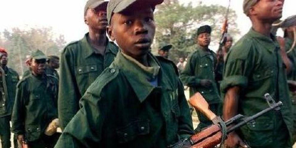 Mehr als 30'000 KindersoldatInnen in der DRK wurde noch immer nicht demobilisiert  © AP Graphics Bank