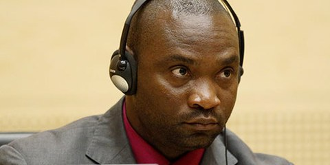 Germain Katanga vor Gericht in Den Haag. © MICHAEL KOOREN/AFP/GettyImages
