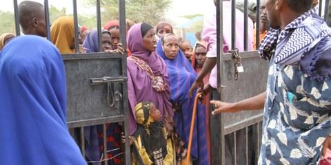 Bald geschlossen: Das Dadaab Flüchtlingscamp in Kenia. © Film Aid. Weitere Fotos durck Klicken auf das Bild.