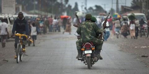 Soldaten in der kongolesischen Provinz Nord-Kivu. © Blattman