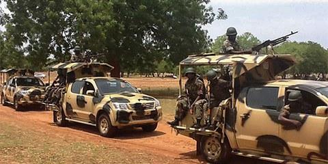 Ausnahmezustand in Nigeria © EPA
