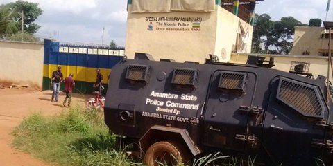 Die Station der SARS in Anambra. © private