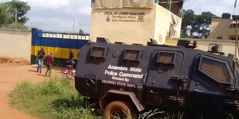 Die Station der SARS in Anambra. © private