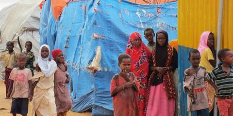 Flüchtlingslager in Mogadishu © Amnesty International
