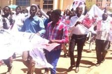 Angriffe auf Studierende aus Darfur