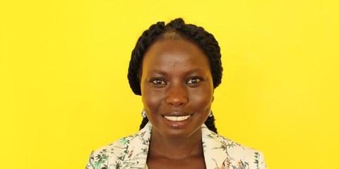 «Während jeder Recherche muss man erst das Vertrauen der Menschen gewinnen», sagt Amnesty-Campaignerin Nyagoah Tut. © AI