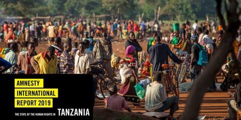 Tansania beherbergt viele Flüchtlinge aus Nachbarstaaten im Nduta Refugee Camp. © UNHCR/Georgina Goodwin