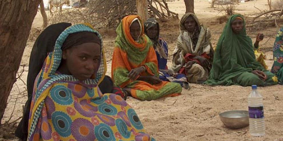 Flüchtlinge in einem Lager im Osten des Tschad © AI