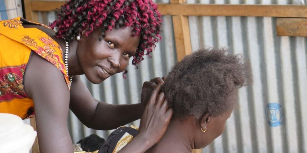 Südsudanesische Flüchtlinge in Uganda. © Amnesty International