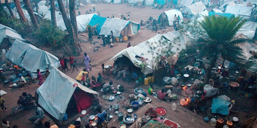 Intern Vertriebene in der Zentralafrikanischen Republik (9. November 2013) © Matthieu Alexandre/AFP/Getty Images