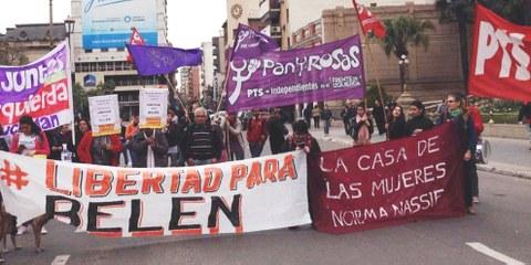 120'000 Unterschriften wurden zu Gunsten von Belén gesammelt. © Amnistía Internacional Argentina