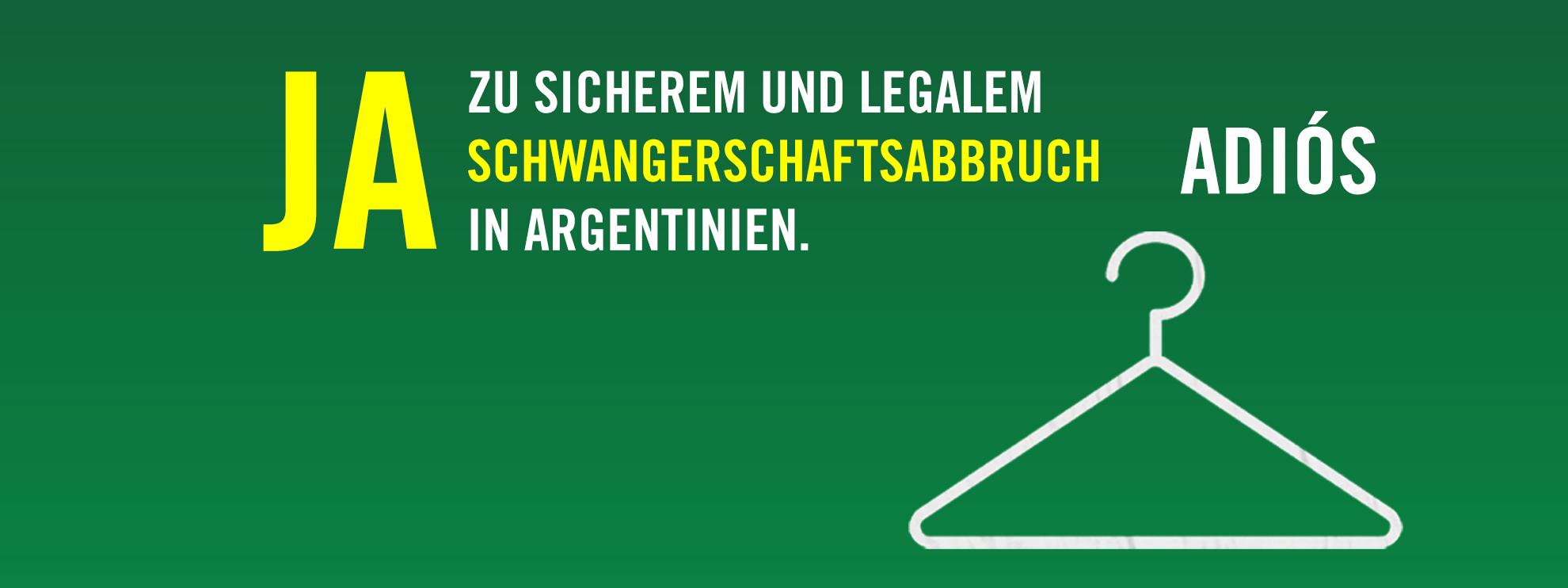 Im August 2018 hatte der argentinische Senat einen Gesetzesentwurf zur Legalisierung des Schwangerschaftsabbruchs abgelehnt und damit eine historische Chance verpasst.© Andreas Christen, Amnesty International