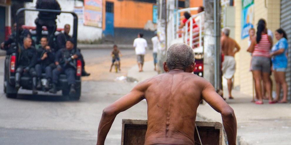 Rocinha favela, Rio de Janeiro, Brasilien © Luiz Baltar/Amnesty International