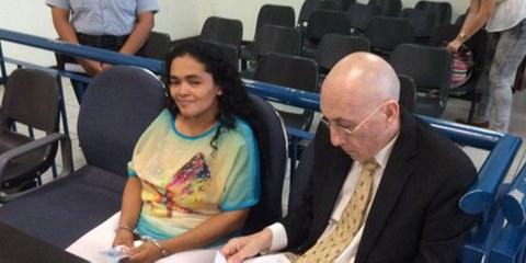 María Teresa Rivera war nach einer Fehlgeburt zu 40 Jahren Haft verurteilt worden. © Charles Abbott - Center for Reproductive Rights