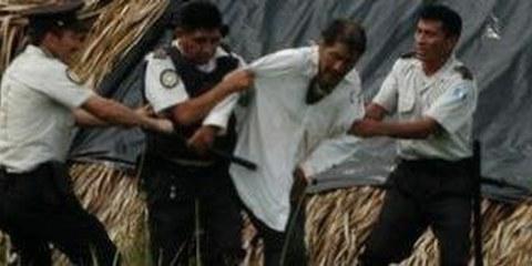 Opfer gezielter Vertreibung: die indigene Bevölkerung. © DR
