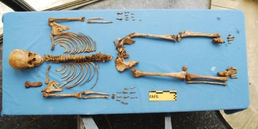 In der guatemaltekischen Stiftung für forensische Anthropologie werden Opfer identifiziert © Private