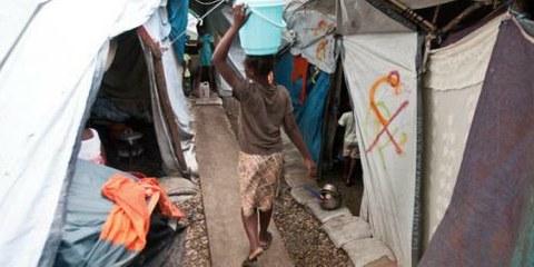 In den ersten 150 Tagen nach dem Erdbeben auf Haiti wurden 250 Vergewaltigungen gemeldet. © Michael Swan