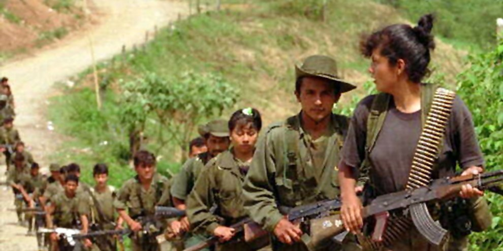 Sollen in den nächsten Monaten ins zivile Leben zurückkehren: SoldatInnen der FARC-Guerilla © APGraphicsBank
