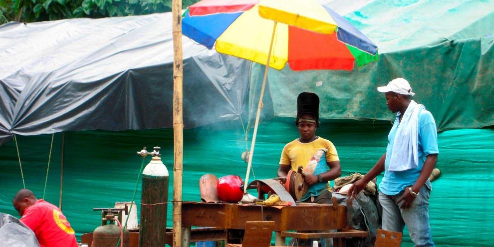 Marktstand in Buenaventura. ©  Pototskiy / shutterstock.com