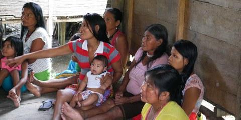 Die Wounaan-Gemeinschaften im Departement Chocó sind noch immer unmittelbar vom Konflikt betroffen. Juni 2017. © AI