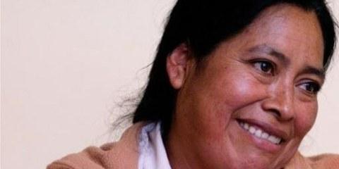 Jacinta Francisco Marcial ist endlich frei. © AI
