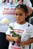 Die Mutter dieses Mädchens ist verschwunden.