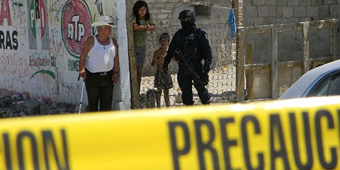 Folter durch Polizei und Militär ist in Mexiko weit verbreitet. © Brayan Escobar