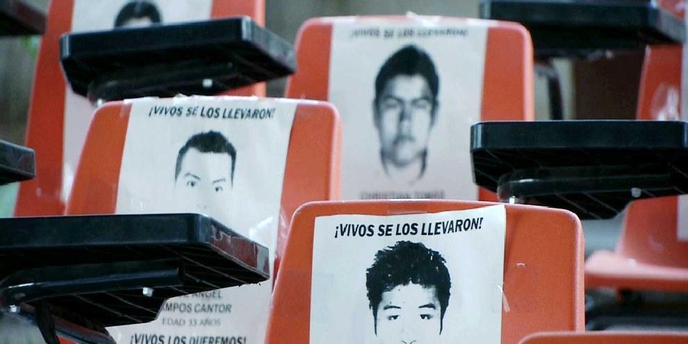 Die 43 Studenten bleiben verschwunden. © Infosur