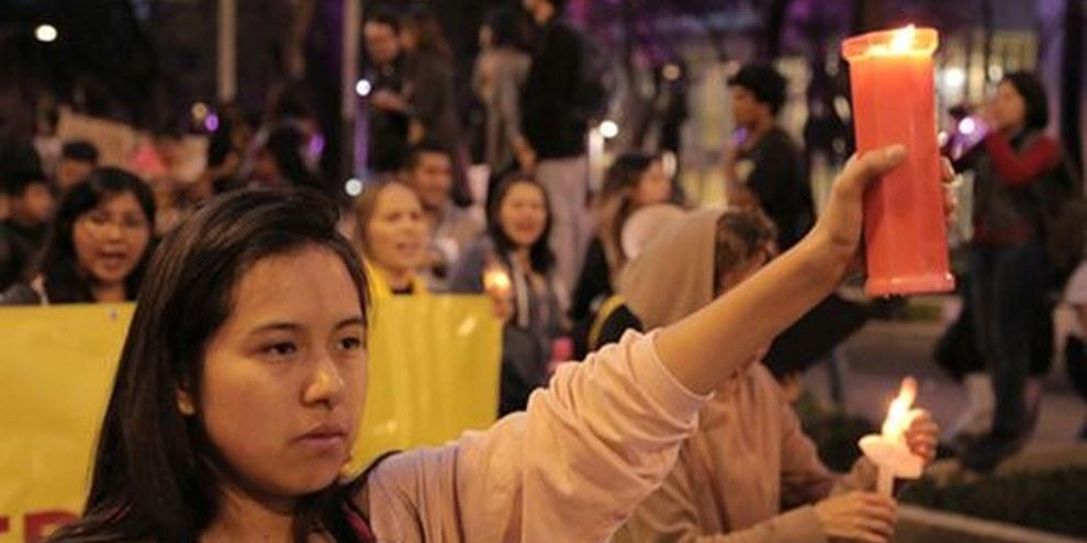 Kundgebung gegen die Krise der Verschwundenen in Mexiko, 24.Oktober 2014, Mexiko D.F. © Alonso Garibay