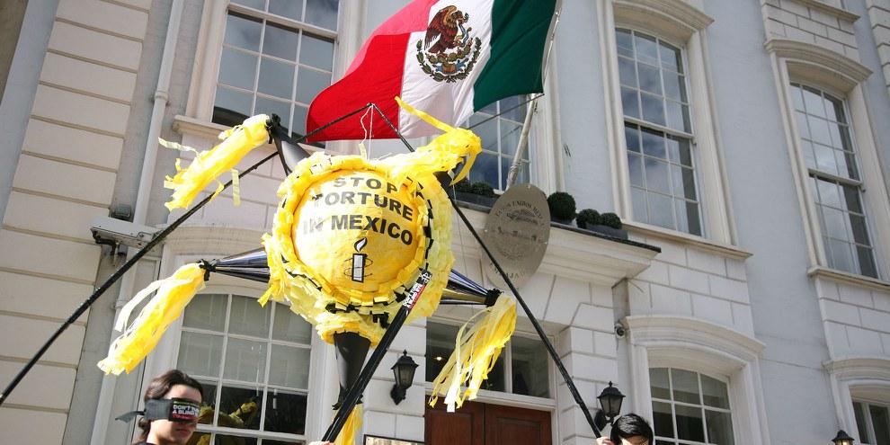 Die Regierung in Mexiko schliesst die Augen vor dem Anstieg der Folterklagen in ihrem Land. © Amnesty International