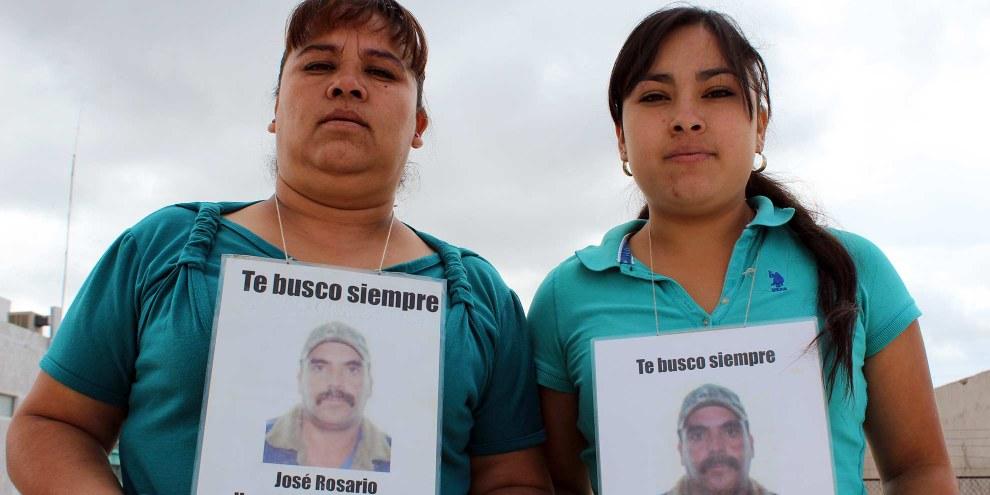 José Rosario Hernández ist einer von 1700 Menschen, die seit 2007 im Bundesstaat Chihuahua vermisst werden. Mexiko, 2015. © Amnesty International.