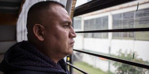 Sergio Sánchez verbrachte nach einer willkürlichen Festnahme sieben Jahre im Gefängnis. © Amnesty International