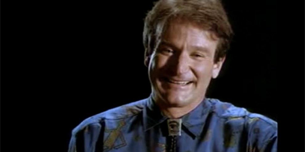 Robin Williams- Genie und Freund von Amnesty