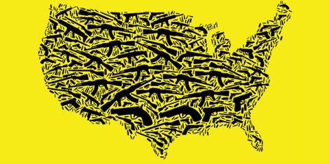 Der Bericht von Amnesty untersucht, wie der uneingeschränkte Zugang zu Waffen Auswirkungen auf nahezu alle Aspekte des Alltags in den USA hat.© AI