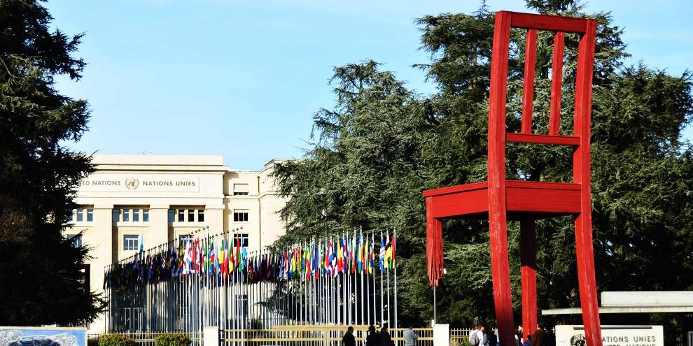 Palais des Nations der Uno in Genf © Agnieszka Skalska - shutterstock.com