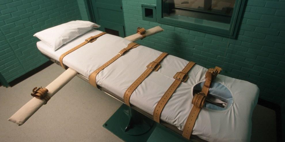 Eine Hinrichtungszelle in Huntsville, Texas. © Joe Raedle/Newsmakers
