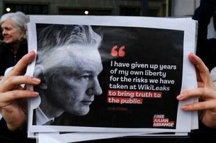 Julian Assange: Anklage fallenlassen und Auslieferung stoppen