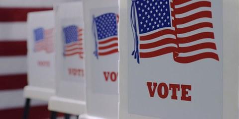 Waffen in Wahllokalen verbieten