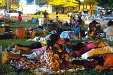 Gesundheitskrise zwingt Tausende zur Flucht