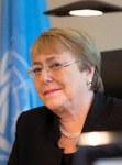 Uno-Menschenrechtskommissarin Michelle Bachelet. © OHCHR