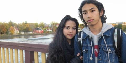 Taibeh Abbasi und ihr Bruder flohen mit ihrer Familie aus dem kriegsgebeutelten Afghanistan, um in Norwegen Schutz zu suchen. Nun sollen sie nach Afghanistan abgeschoben werden. © Amnesty International