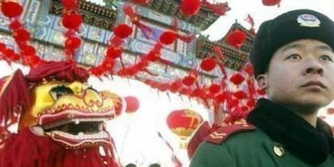 Feierlichkeiten in Peking.  © APGraphicsBank