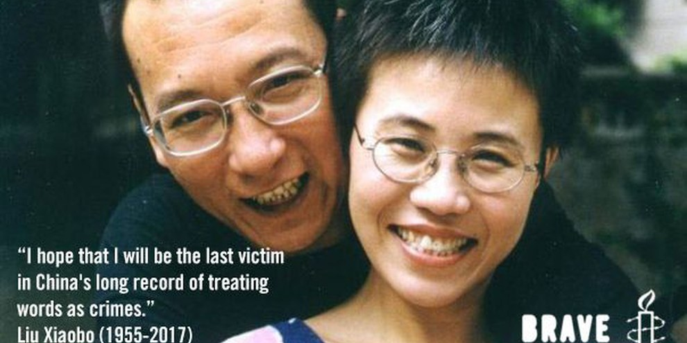 Liu Xiaobo, 1955-2017, und Liu Xia