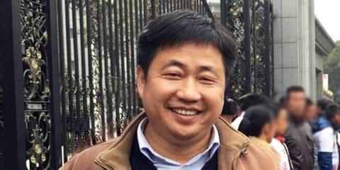 Der Menschenrechtsanwalt Xie Yang vor seiner Festnahme. Er ist einer von vielen inhaftierten, chinesischen Anwältinnen und Anwälten. © privat