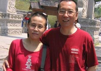 Liu Xia und ihr 2017 verstorbener Ehemann Liu Xiaobo.