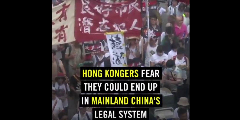 Massive Gewalt gegen Protestierende in Hongkong