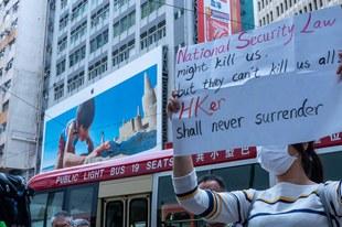 Hongkong droht der Polizeistaat